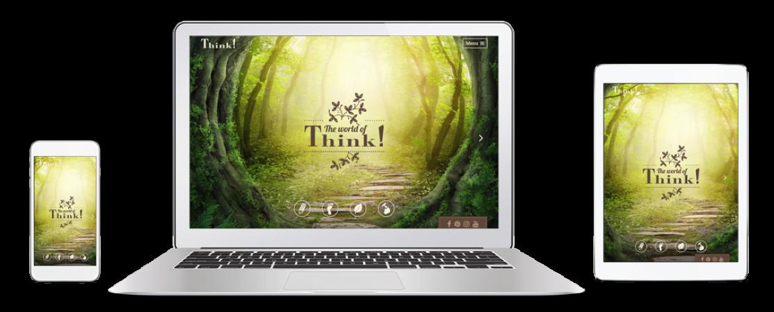 Thinkshoes® Markenwebsite