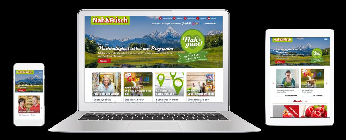 Nah&Frisch Website