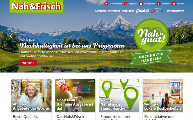 Nah&Frisch Website