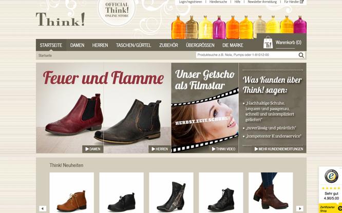 Thinkshoes® Shop